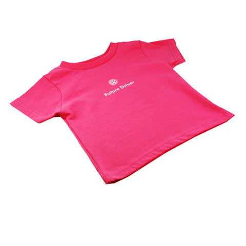 VW Youth Pink Future Drive Tee