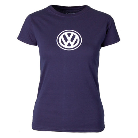 VW Ladies Anywhere Tee, Navy