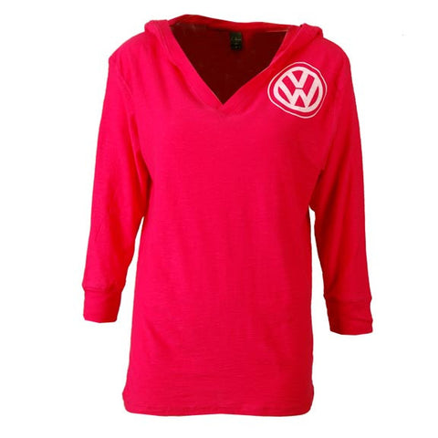 VW Joyride Long Sleeve Tee, Wildberry