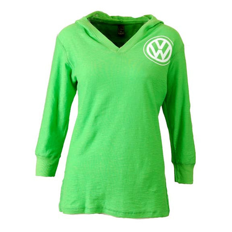VW Joyride Long Sleeve Tee, Lime