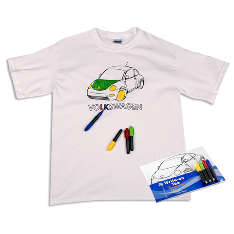 VW Youth Color It Yourself Tee
