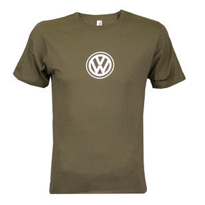 VW Logo Tee, City Green