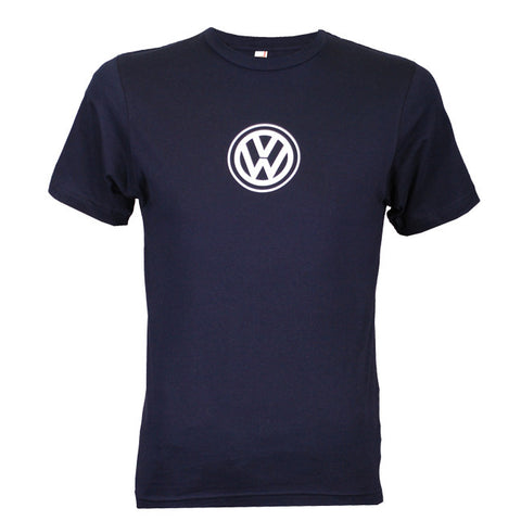 VW Logo Tee, Navy