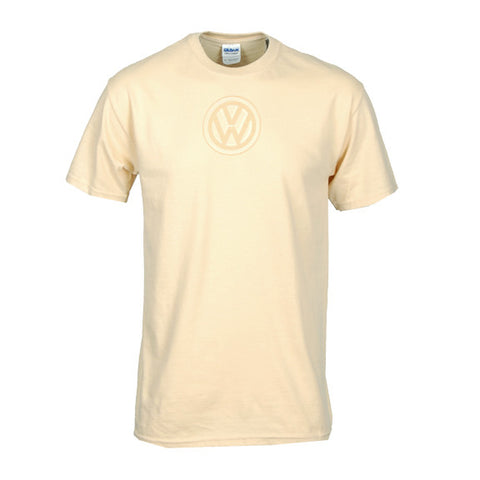 VW Logo Tee, Light Gold