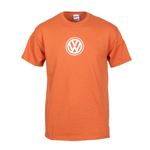 VW Logo Tee, Texas Orange