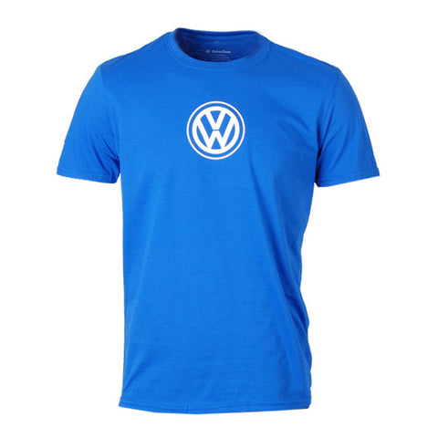 VW Logo Tee, Royal Blue