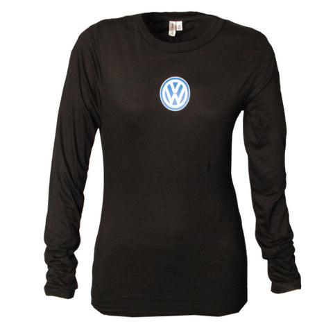 VW Ladies Black Long Sleeve Tee