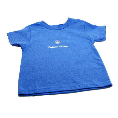 VW Iris Blue Toddler Tee