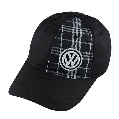 VW Half Plaid Cap