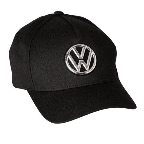VW Black VW Flexfit Cap