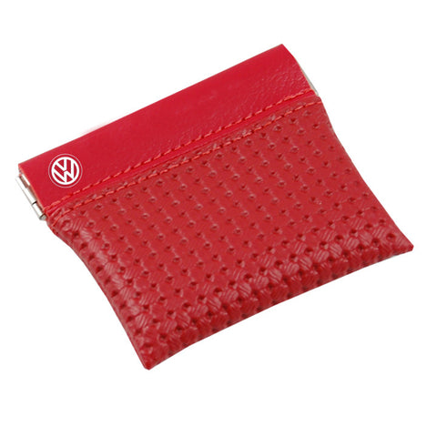 VW Spare Change Purse, Red