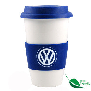 VW White/Blue Not Paper Cup