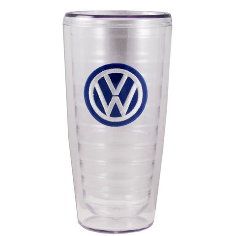 VW Clear Double Wall Tumbler