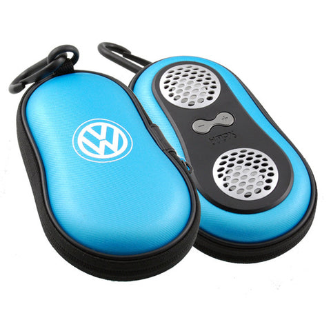 VW Speaker Case, Ice Blue