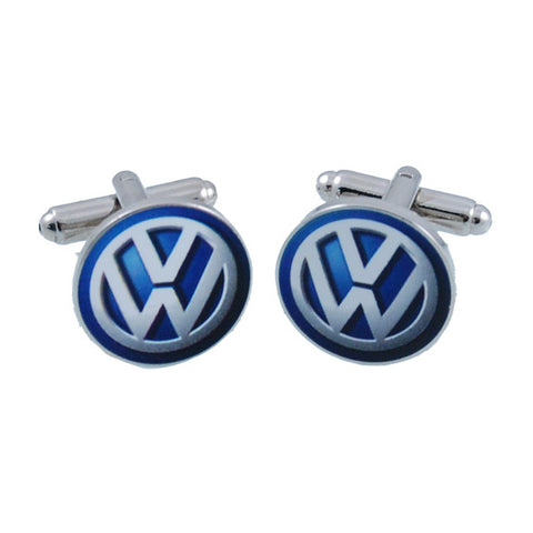 VW 3D Dome Cuff Links