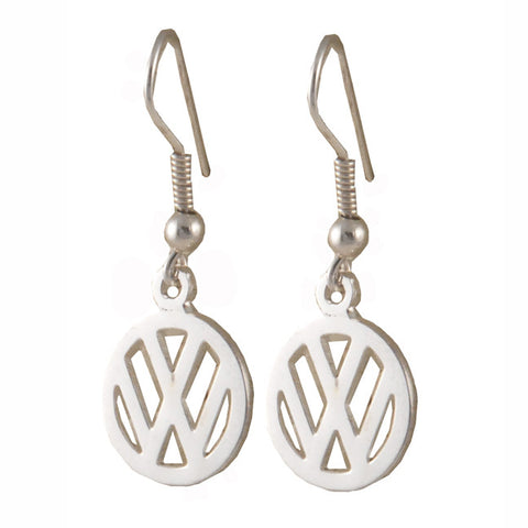 VW Logo Earrings