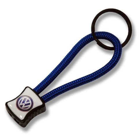 VW Royal Power Cord Keychain