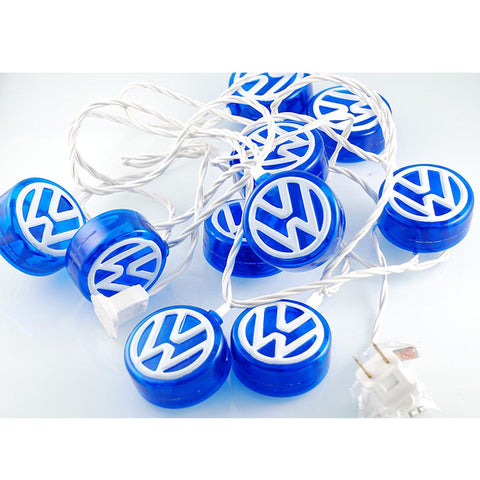 VW Logo String Light Set