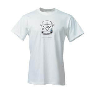 VW White Crying Bus Tee