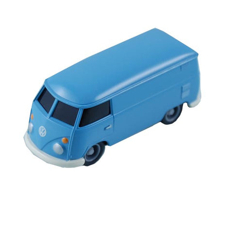VW 1:64 Scale Pull Back Bus, Blue