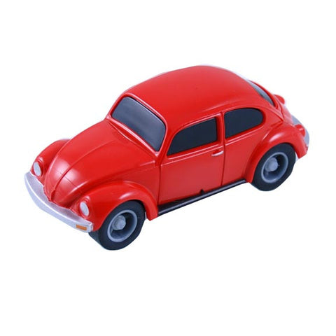 VW 1:64 Scale Pull Back 1200 Bug, Red