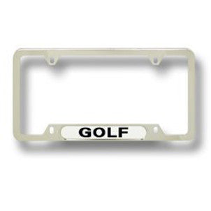 Golf VW Plate Frame