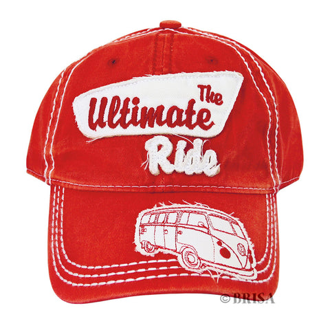 VW Ultimate Ride Cap, Red