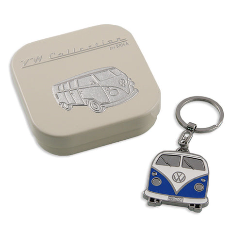 VW T1 Key Ring Blue