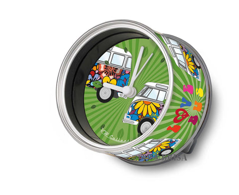 My Clock VW T1 Flower Love Collection_Bus