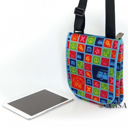 VW Bus T1 Neoprene Shoulder Bag For Tablet - Colors