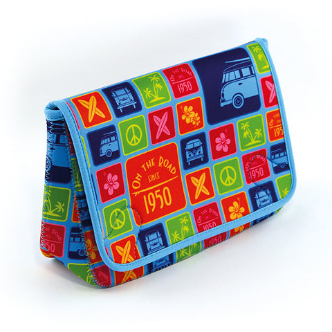 VW Bus T1 Neoprene Toiletry Bags - Colors