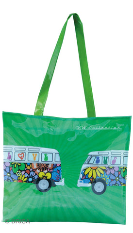 VW Bus T1 Shopper Tote Bag Love Bus