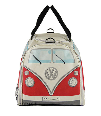 VW Bus T1 Sports Bag Red/White
