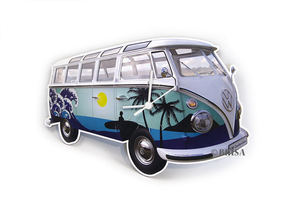 Vw t1 wall clock surf all things vdub vw t1 wall clock surf thecheapjerseys Choice Image