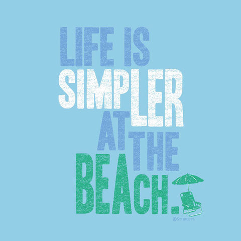 Life is Simpler at the Beach  EL-306