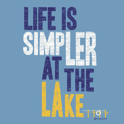 Life is Simpler at the Lake  EL-305