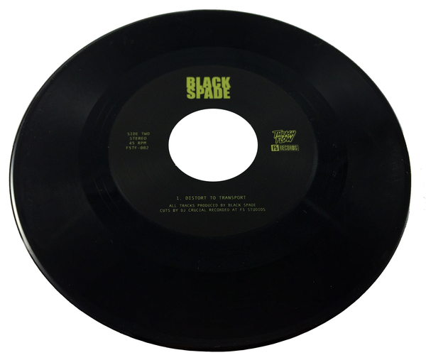 "Black Spade - This Time Tomorrow 7"" + Digital Download"