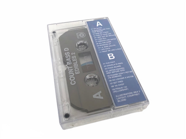 Count Bass D - Edibles 2 Cassette