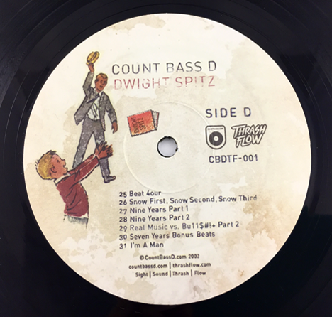 Count Bass D - Dwight Spitz (Deluxe Edition) 2XLP Vinyl + Digital Download