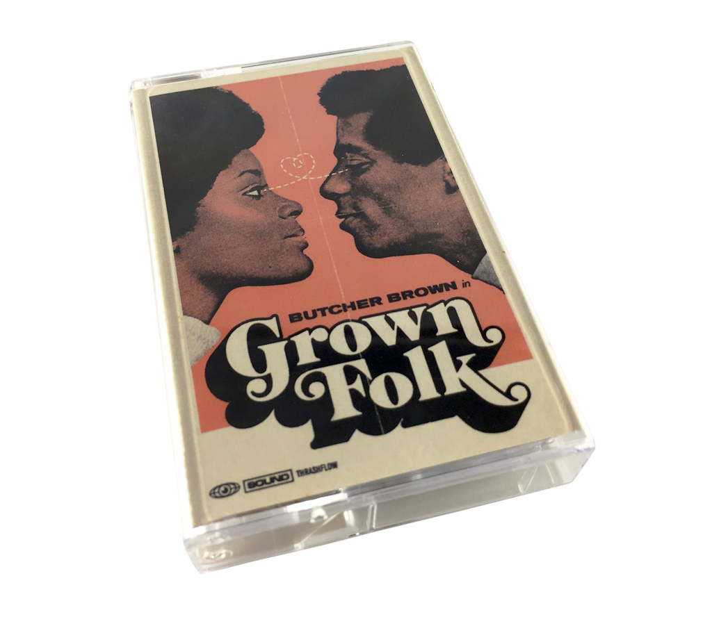 Butcher Brown - GrownFolk Cassette + DL Card
