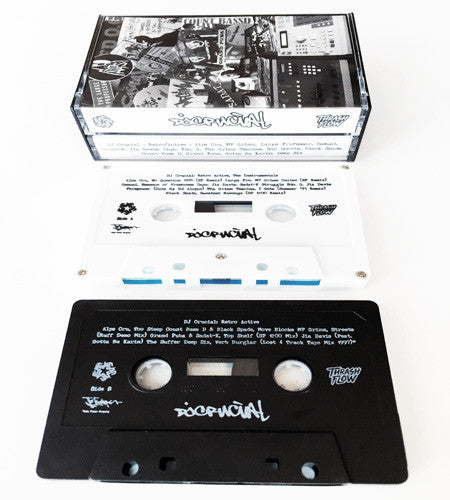 DJ Crucial - Retro Active Double Cassette