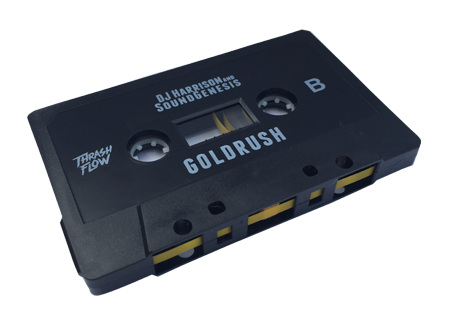 DJ Harrison & SoundGenesis - GoldRush Cassette + DL Card