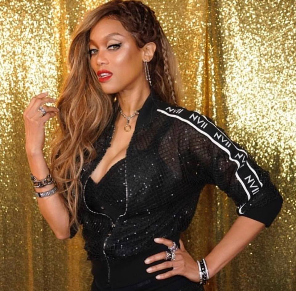 Pity, that black model tyra banks can