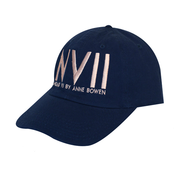 NVII - NEW YORK STYLE BASEBALL HAT (NAVY) - NOMAD VII X ANNE BOWEN