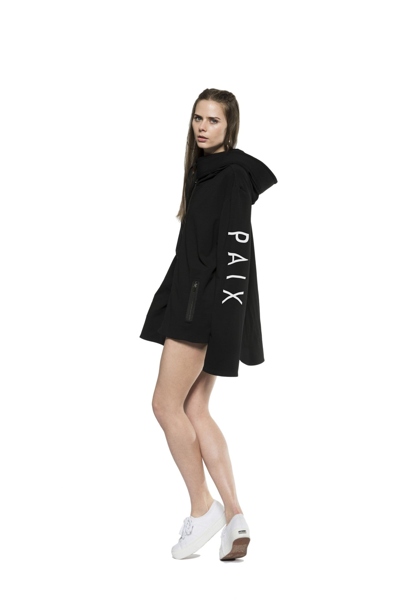 NVII - PAVATI PEACE HOODIE (CHOOSE YOUR LANGUAGE) - NOMAD VII X ANNE BOWEN