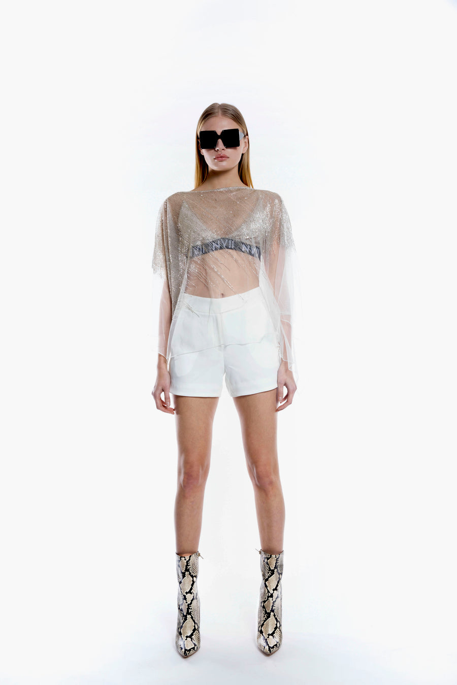 NOMAD VII - Agaming High Waisted Short - NOMAD VII X ANNE BOWEN