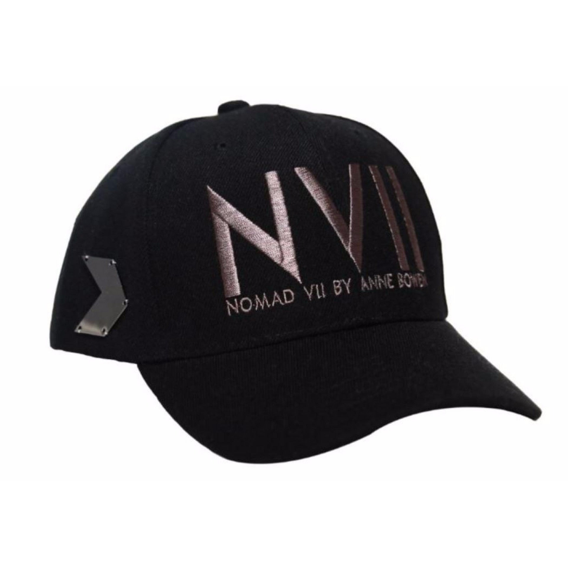 NVII - NEW YORK STYLE BASEBALL HAT (BLACK) - NOMAD VII X ANNE BOWEN