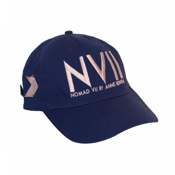 NVII - NEW YORK STYLE BASEBALL HAT (MIDNIGHT BLUE) - NOMAD VII X ANNE BOWEN