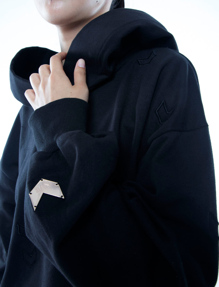 NOMAD VII - THE NOMAD TRACK HOODIE - NOMAD VII X ANNE BOWEN