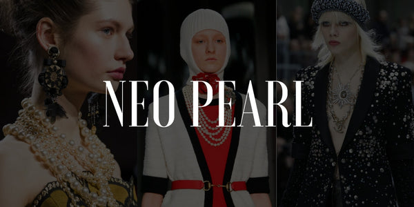 Neo Pearls: The Bold Baroque Trend of Fall 2017